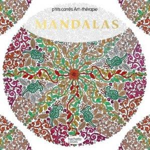Carrés Art-thérapie Mandalas - hachette - 9782019454197 -