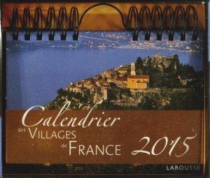 Calendrier des villages de France 2015 - Larousse - 9782035885203 -
