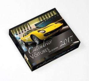 Calendrier des voitures de légende - Larousse - 9782035922540 -