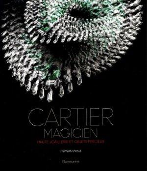 Cartier magicien - flammarion - 9782081391437 -