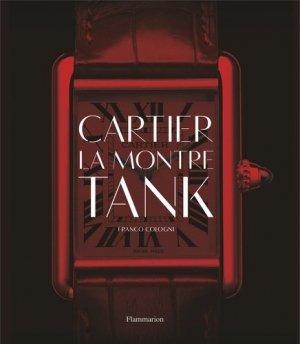 Cartier, la montre Tank - flammarion - 9782081416710 -