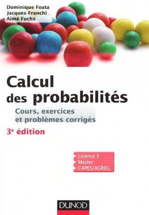 Calcul Des Probabilites Cours Exercices Et Problemes Corriges
