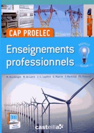 CAP Proelec - casteilla - 9782206100685 -
