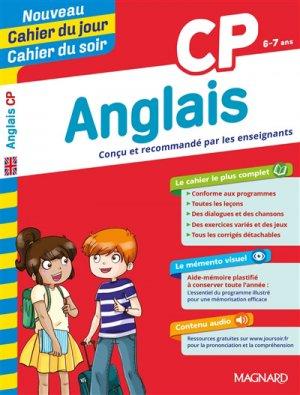 Cahier du jour/Cahier du soir Anglais CP + mémento - Magnard - 9782210762503 -