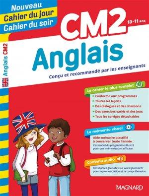 Cahier du jour/Cahier du soir Anglais CM2 - magnard - 9782210762541 -