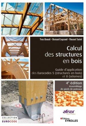 Calcul des structures en bois - eyrolles - 9782212678048 -