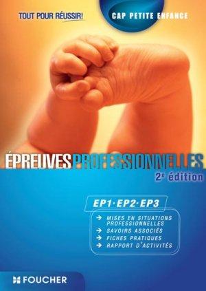 Epreuves professionnelles EP1-EP2-EP3 - foucher - 9782216128211 -
