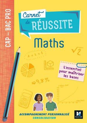 Carnet de réussite maths - foucher - 9782216153602