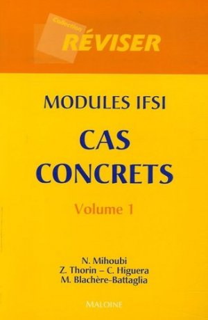 Cas concrets Volume 1 - maloine - 9782224029494 -