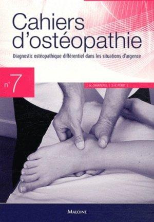 Cahiers d'ostéopathie 7-maloine-9782224031053