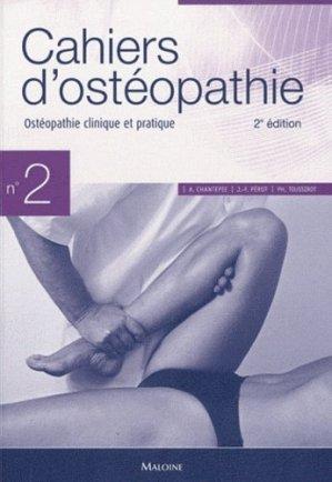 Cahiers d'ostéopathie 2-maloine-9782224032470