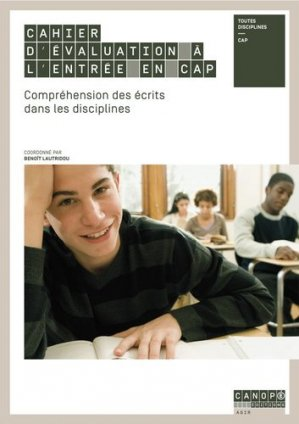 Cahier d'évaluation à l'entrée en CAP - Canopé - CNDP - 9782240036599 -
