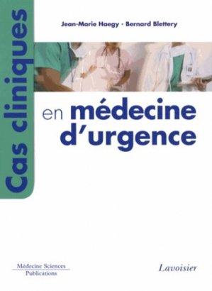 Cas cliniques en médecine d'urgence - lavoisier msp - 9782257205384 -