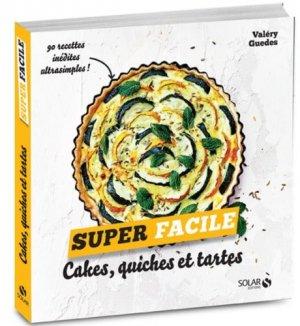 Cakes, quiches et tartes - solar - 9782263154034 -