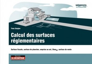 Calculs des surfaces réglementaires - le moniteur - 9782281116878 -