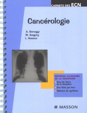 Cancérologie - elsevier / masson - 9782294088964 -
