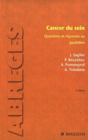 Cancer du sein - elsevier / masson - 9782294702587 -