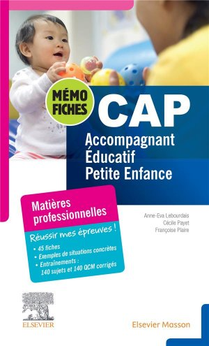 CAP Accompagnant éducatif petite enfance - elsevier / masson - 9782294770142 -