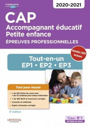 CAP Accompagnant éducatif petite enfance 2020-2021 - vuibert - 9782311206753