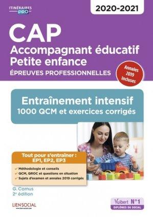 CAP Accompagnant éducatif Petite enfance 2020-2021 - vuibert - 9782311207781 -