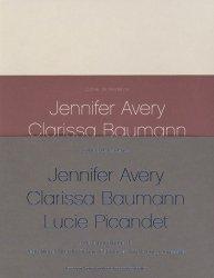 Cahiers de résidence. Volume 5, Jennifer Avery, Clarissa Baumann, Lucie Picandet, 3 volumes, Edition bilingue français-anglais, avec 1 DVD - actes sud  - 9782330057305 -