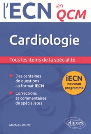 Cardiologie - ellipses - 9782340004795 -