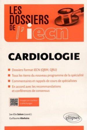 Cardiologie - ellipses - 9782340005679 -