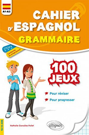 Cahier d'espagnol - ellipses - 9782340023222