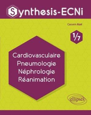 Cardiovasculaire Pneumologie Néphrologie Réanimation - ellipses - 9782340033061 -