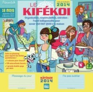 Calendrier Le Kifekoi 2014 - 365 - 9782351555064 -