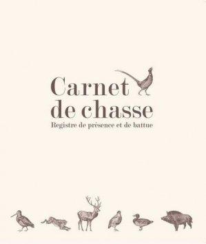 Carnet de chasse - gerfaut - 9782351912232 -