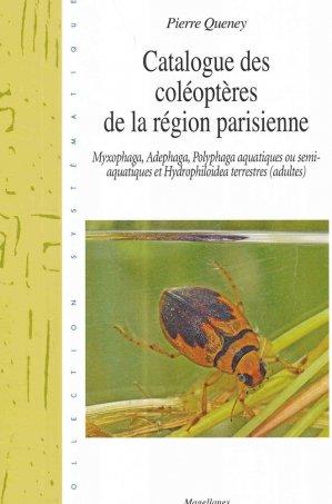 Catalogue des coléoptère de la région parisienne - magellanes - 9782353871254 -