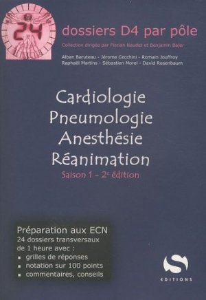 Cardiologie Pneumologie Anesthésie Réanimation Saison 1 - s editions - 9782356400543 -