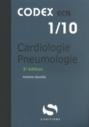 Cardiologie pneumologie - s editions - 9782356402158 - mikbook ecn 2020, mikbook 2021, ecn mikbook 4ème édition, micbook ecn 5ème édition, mikbook feuilleter, mikbook consulter, livre ecn