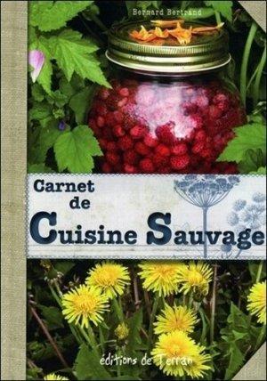 Carnet de cuisine sauvage - de terran - 9782359810257 -