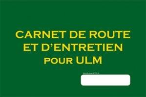 Carnet de route et d'entretien pour ULM - cepadues - 9782364935648 - majbook ème édition, majbook 1ère édition, livre ecn major, livre ecn, fiche ecn