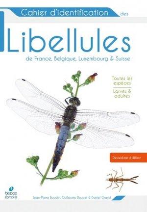 Cahier d'identification des libellules de France, Belgique, Luxembourg et Suisse - Biotope - 9782366622201 -