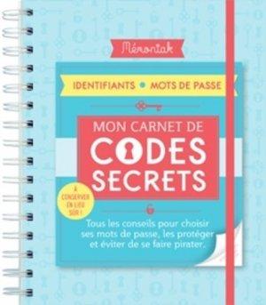 Carnet de codes secrets Mémoniak - 365 - 9782377610662 -