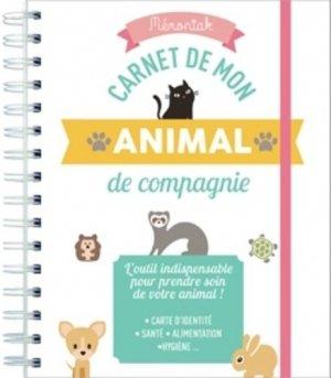 Carnet de mon animal de compagnie - 365 - 9782377611171 -