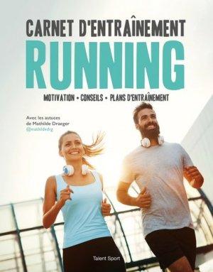Carnet d'entraînement running - talent sport - 9782378150631