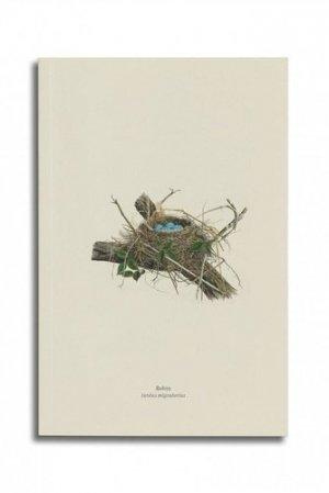 Carnet - Merle d'Amérique (Robin, Turdus migratorius) - reliefs - 9782380360172 -