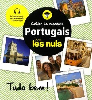 Cahier de vacances portugais pour les Nuls - first  - 9782412037089 -
