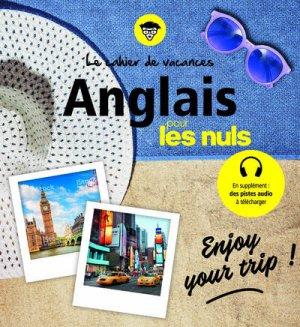 Cahier de vacances Anglais pour les nuls - first editions - 9782412044612 -