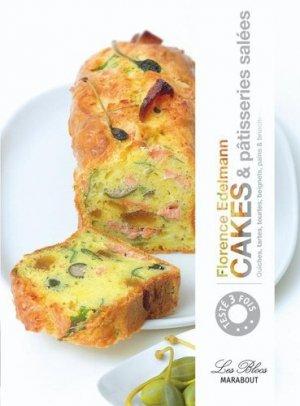 Cakes & pâtisseries salées - Marabout - 9782501062305 -