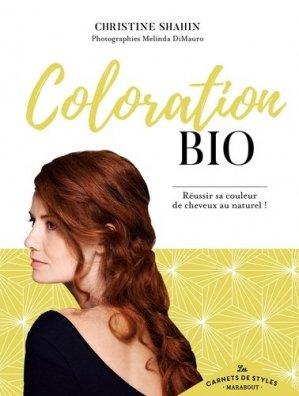 Carnet de style coloration bio - marabout - 9782501130615 -