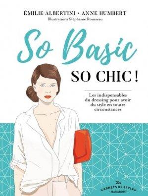 Carnet de style so basic so chic - marabout - 9782501130790 -