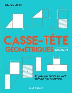 Casse-tête géométriques - Marabout - 9782501142052 -