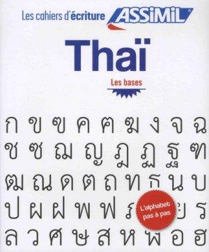 Thaï - Les bases - assimil - 9782700508307 -