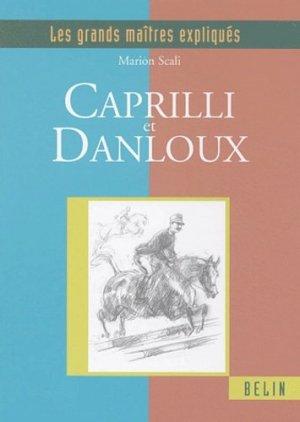 Caprilli et Danloux - belin - 9782701136370 -