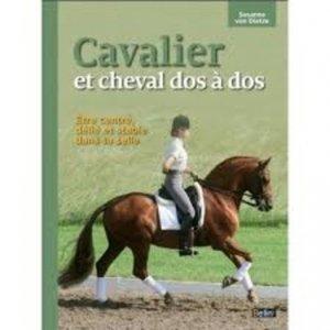 Cavalier et cheval dos à dos - belin - 9782701182902 -